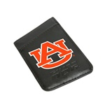 Auburn Tigers Card Keeper Leather Phone Wallet with RFID Protection