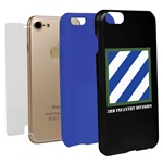 3rd Infantry Division Hybrid Case for iPhone 7/8 with Guard Glass Screen Protector