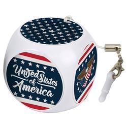 American Flag Collection MX-100 Cubio Mini Bluetooth Speaker