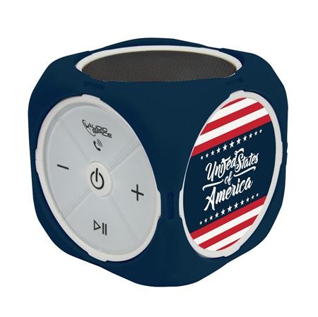 American Flag Collection MX-300 Cubio Bluetooth Speaker