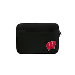 "Wisconsin Badgers ""W"" Premium Laptop & Tablet Sleeve 11/12"""