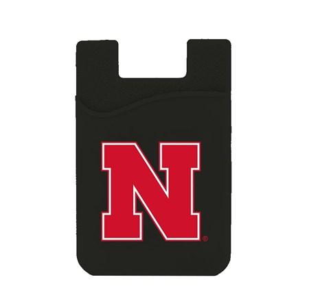Nebraska Cornhuskers Silicone Card Keeper Phone Wallet