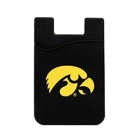 Iowa Hawkeyes Silicone Card Keeper Phone Wallet