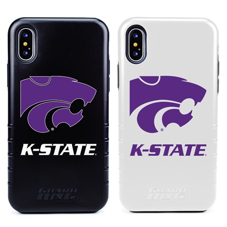 Guard Dog Kansas State Wildcats Hybrid Phone Case for iPhone X / Xs