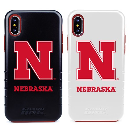 Guard Dog Nebraska Cornhuskers Hybrid Phone Case for iPhone X / Xs