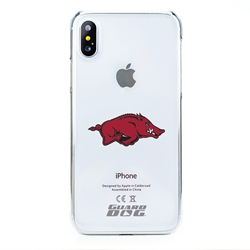 Guard Dog Arkansas Razorbacks Clear Phone Case for iPhone X / Xs