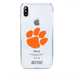 Guard Dog Clemson Tigers Clear Phone Case for iPhone X / Xs