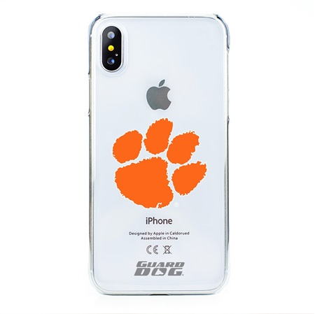Clemson Tigers Clear Case for iPhone X / Xs