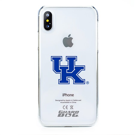 Guard Dog Kentucky Wildcats Clear Phone Case for iPhone X / Xs