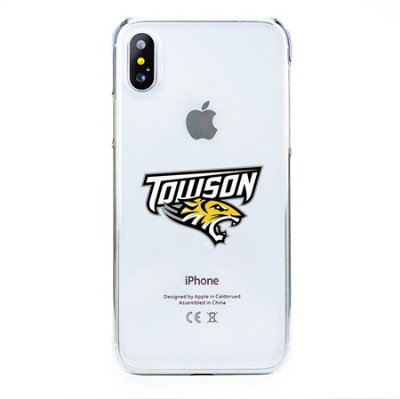Guard Dog Towson Tigers Clear Phone Case for iPhone X / Xs