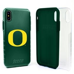 Guard Dog Oregon Ducks Clear Hybrid Phone Case for iPhone X / Xs