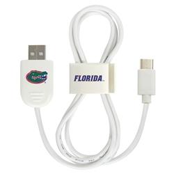 Florida Gators USB-C Cable with QuikClip