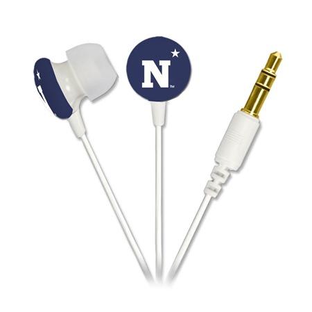 Navy Midshipmen Ignition Earbuds