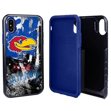 Guard Dog Kansas Jayhawks PD Spirit Hybrid Phone Case for iPhone X / Xs