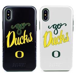 Guard Dog Oregon Ducks Go Ducks™ Hybrid Phone Case for iPhone X / Xs