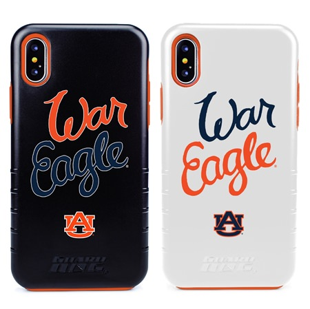 Guard Dog Auburn Tigers War Eagle® Hybrid Phone Case for iPhone X / Xs
