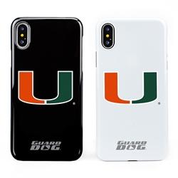 Guard Dog U Miami Hurricanes Phone Case for iPhone X / Xs