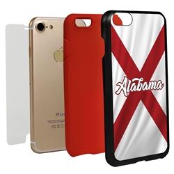 Guard Dog Alabama State Flag Hybrid Phone Case for iPhone 7/8/SE