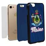 Guard Dog Maine State Flag Hybrid Phone Case for iPhone 7 / 8