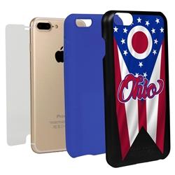 Guard Dog Ohio State Flag Hybrid Phone Case for iPhone 7 Plus / 8 Plus