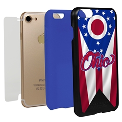 Guard Dog Ohio State Flag Hybrid Phone Case for iPhone 7/8/SE