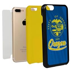 Guard Dog Oregon State Flag Hybrid Phone Case for iPhone 7 Plus / 8 Plus