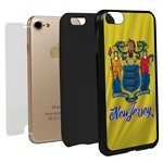 Guard Dog New Jersey State Flag Hybrid Phone Case for iPhone 7 / 8
