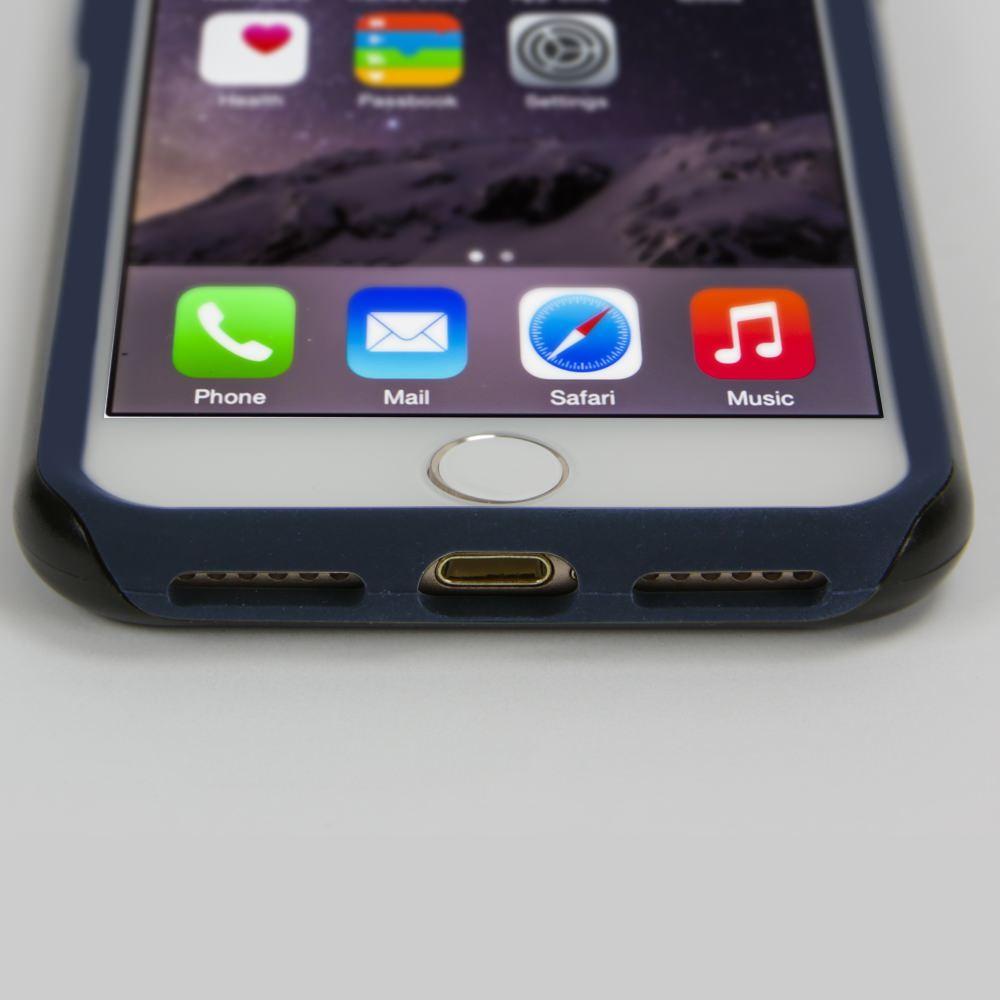 Guard Dog South Carolina State Flag Hybrid Phone Case for iPhone 7 / 8