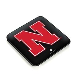 Nebraska Cornhuskers QuikCharge Wireless Charger - Qi Certified