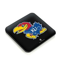 Kansas Jayhawks QuikCharge Wireless Charger - Qi Certified
