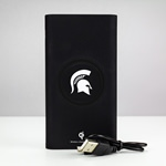 Michigan State Spartans 8000WX Wireless Mobile Charger - Qi Certified