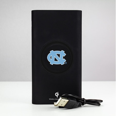 North Carolina Tar Heels 8000WX Wireless Mobile Charger - Qi Certified