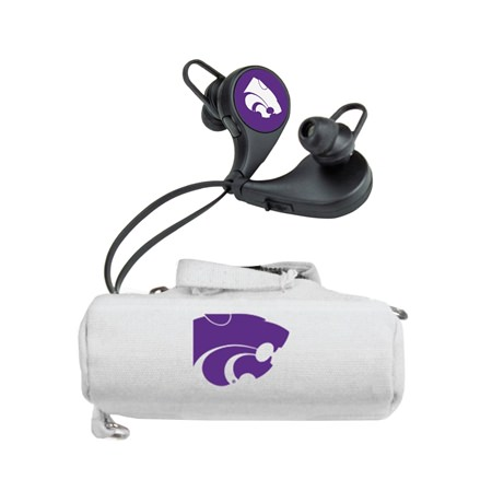 Kansas State Wildcats HX-300 Bluetooth Earbuds