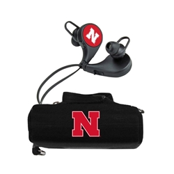 Nebraska Cornhuskers HX-300 Bluetooth Earbuds