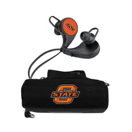 Oklahoma State Cowboys HX-300 Bluetooth Earbuds