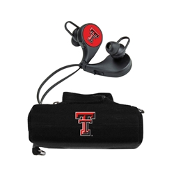 Texas Tech Red Raiders HX-300 Bluetooth Earbuds