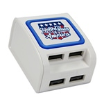 United States Flag Collection WP-400X 4-Port USB Wall Charger
