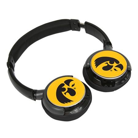 Iowa Hawkeyes Sonic Jam Bluetooth Headphones