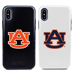 Guard Dog Auburn Tigers Hybrid Phone Case for iPhone XS Max with Guard Glass Screen Protector