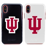 Indiana Hoosiers Hybrid Case for iPhone XS Max with Guard Glass Screen Protector