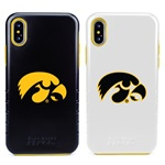 Guard Dog Iowa Hawkeyes Hybrid Phone Case for iPhone XS Max with Guard Glass Screen Protector