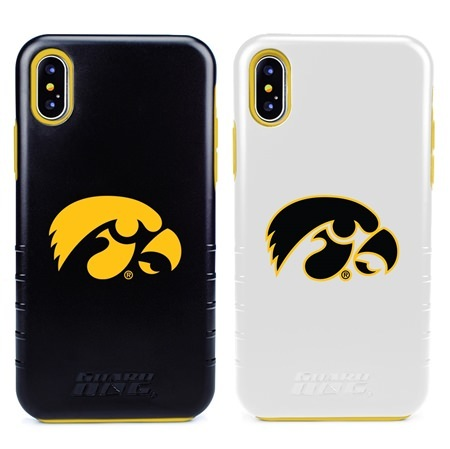 Guard Dog Iowa Hawkeyes Hybrid Phone Case for iPhone XS Max