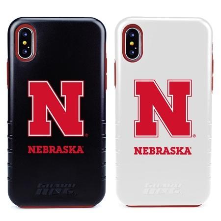 Guard Dog Nebraska Cornhuskers Hybrid Phone Case for iPhone XS Max