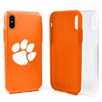 Guard Dog Clemson Tigers Clear Hybrid Phone Case for iPhone XS Max