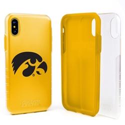 Guard Dog Iowa Hawkeyes Clear Hybrid Phone Case for iPhone XS Max