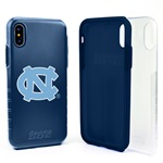 Guard Dog North Carolina Tar Heels Clear Hybrid Phone Case for iPhone XS Max with Guard Glass Screen Protector