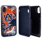 Guard Dog Auburn Tigers PD Spirit Hybrid Phone Case for iPhone XS Max with Guard Glass Screen Protector