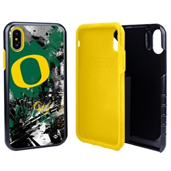 Guard Dog Oregon Ducks PD Spirit Hybrid Phone Case for iPhone XS Max