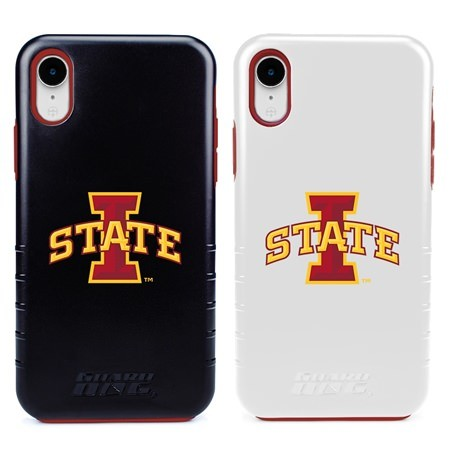 Guard Dog Iowa State Cyclones Hybrid Phone Case for iPhone XR with Guard Glass Screen Protector