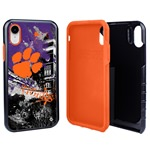 Guard Dog Clemson Tigers PD Spirit Hybrid Phone Case for iPhone XR